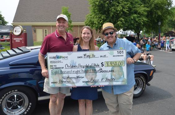 American Heritage FCU And WOGL Raise For Childrens - American heritage car show