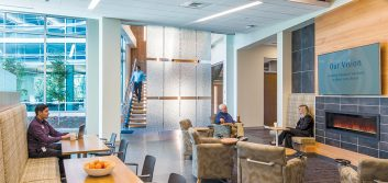 Five ideas that drive the design of modern credit union workplaces
