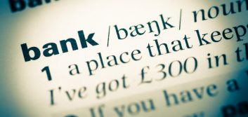 "The word of the day is ""bank"" (verb)"