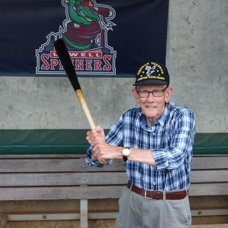 Hanscom FCU honors Henry Benson as a hero among us - CUInsight
